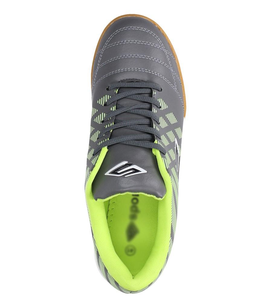 Szare buty sportowe halówki Casu A1713-3 wys_calkowita_buta 12.5 cm