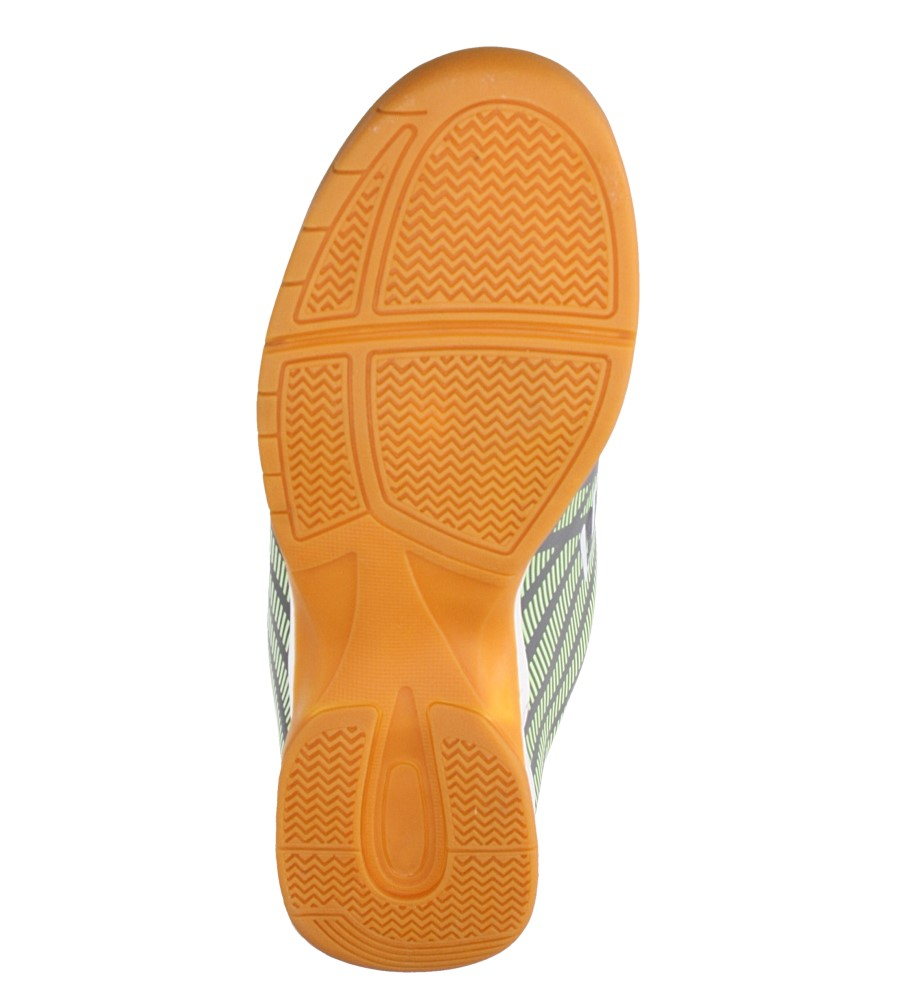 Szare buty sportowe halówki Casu A1713-3 wierzch skóra ekologiczna