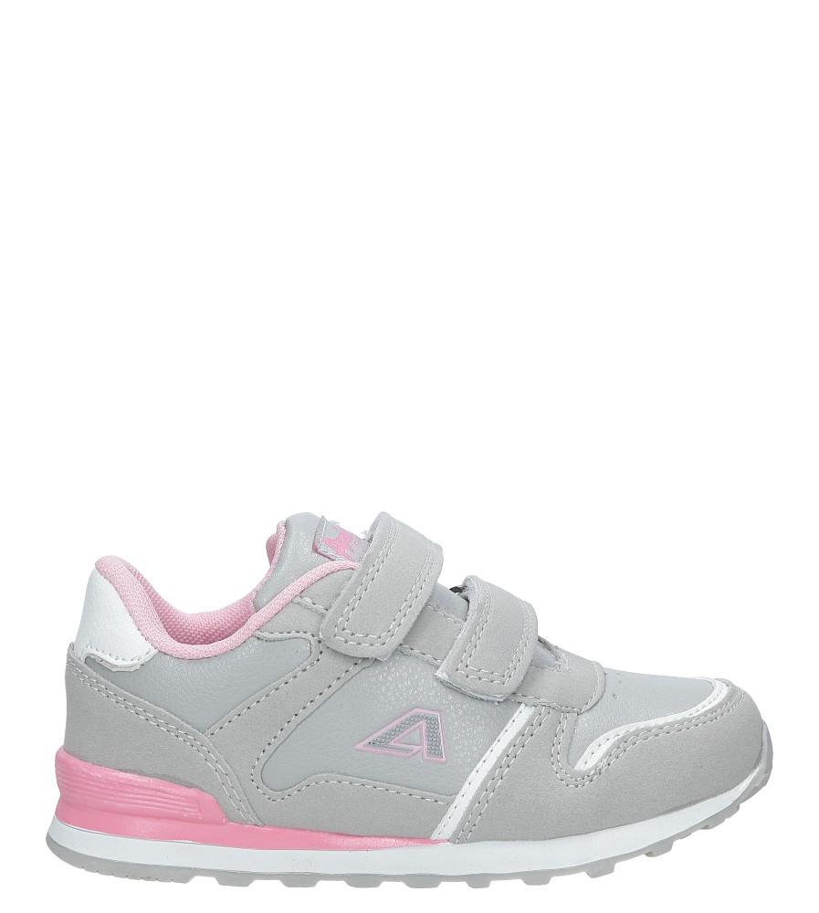 Szare buty sportowe na rzepy American 13