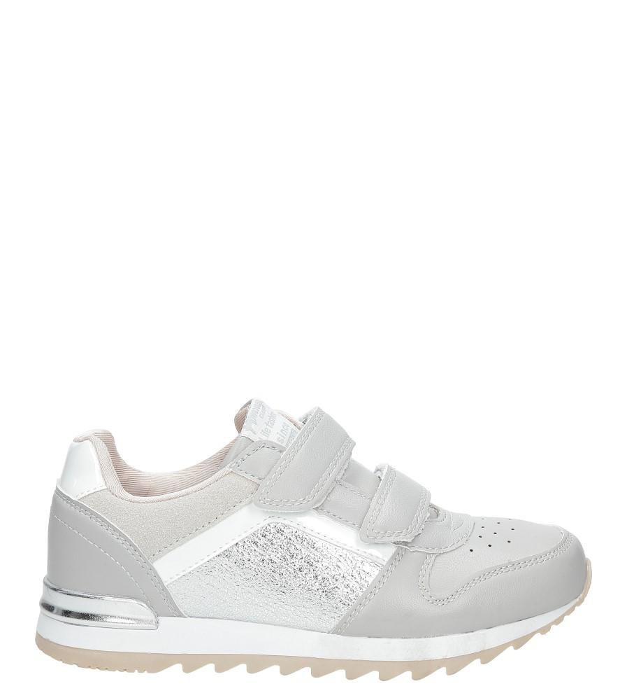 Szare buty sportowe na rzepy  American K17362
