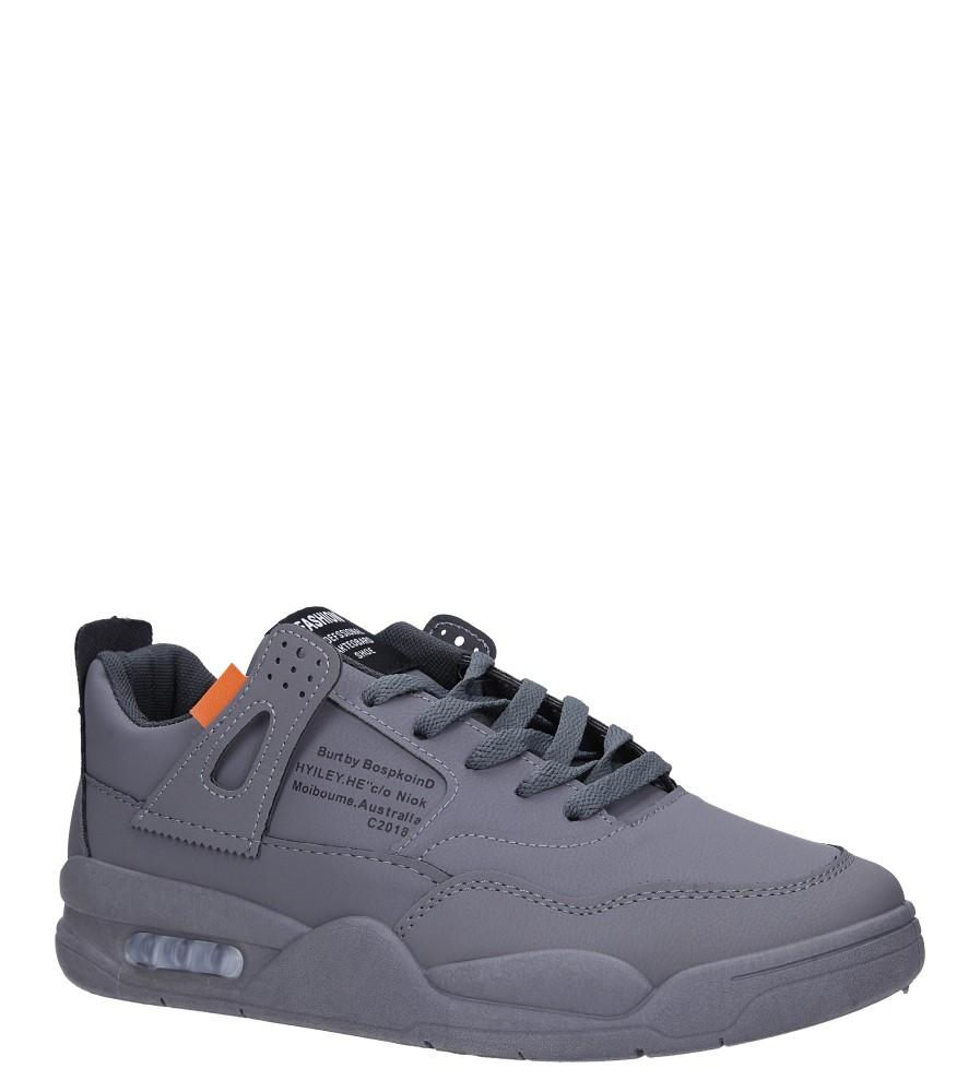 Szare buty sportowe sznurowane Casu 193 producent Casu