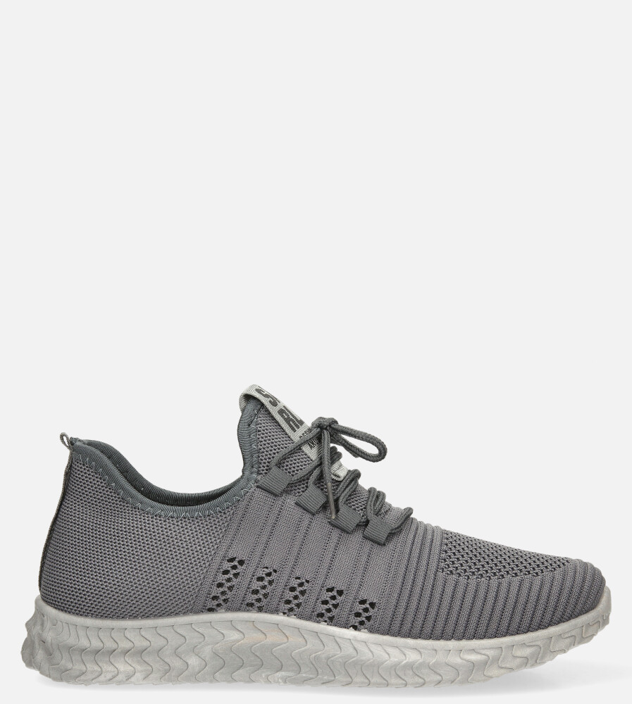Szare buty sportowe sznurowane Casu 204/5G model 204/5G MW-2