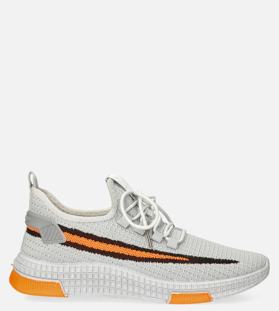 Szare buty sportowe sznurowane Casu 20A20/GO szary