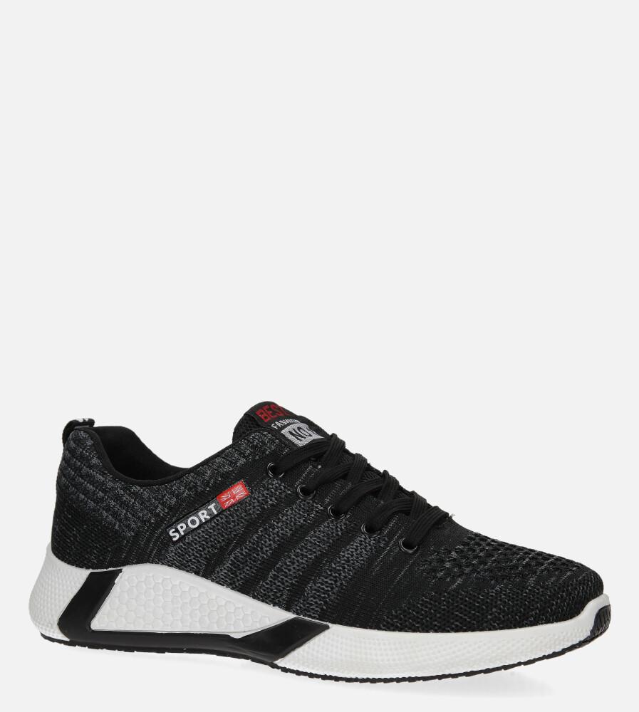 Szare buty sportowe sznurowane Casu 20F1/G  producent Casu
