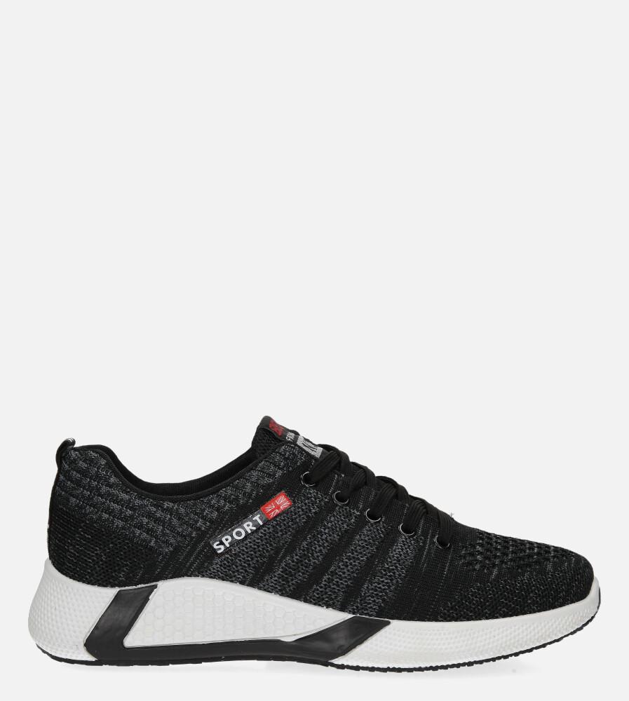 Szare buty sportowe sznurowane Casu 20F1/G szary
