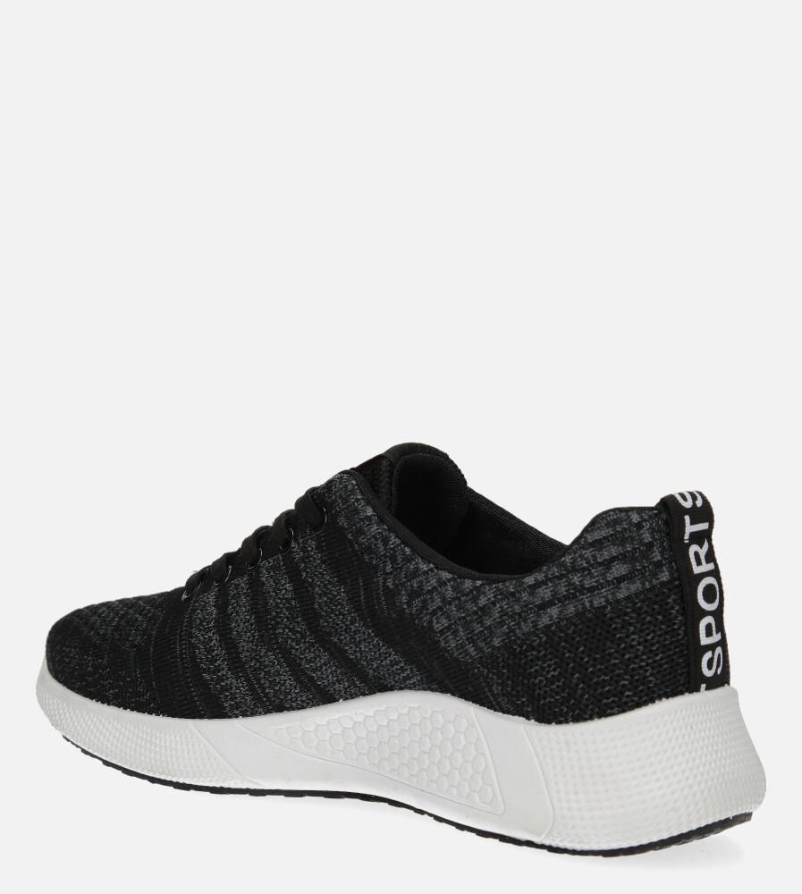 Szare buty sportowe sznurowane Casu 20F1/G  sezon Całoroczny