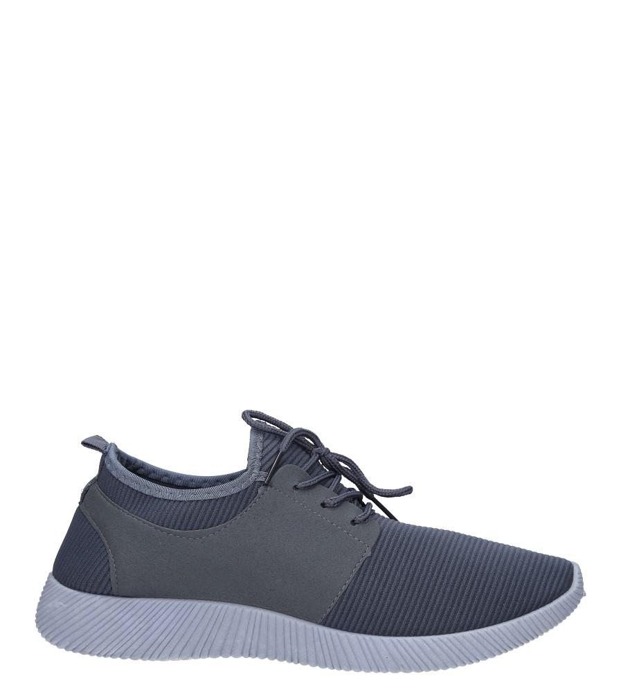 Szare buty sportowe sznurowane Casu 2951  model 2951