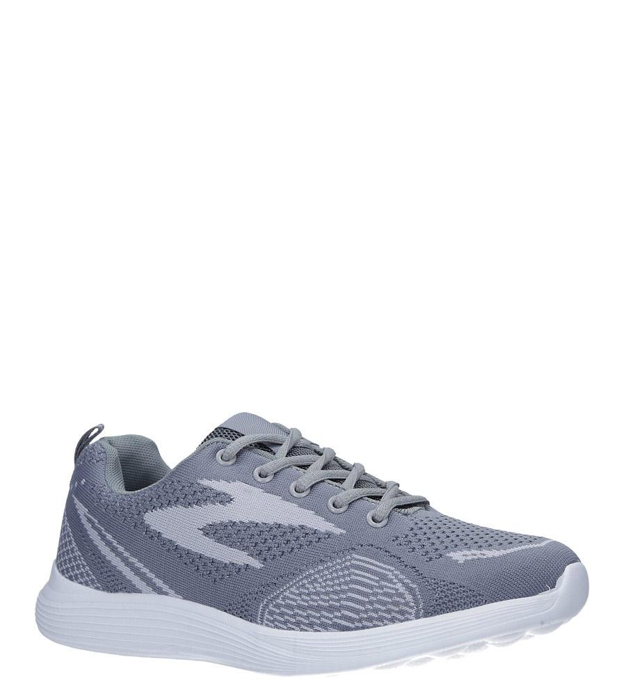 Szare buty sportowe sznurowane Casu 5042-3