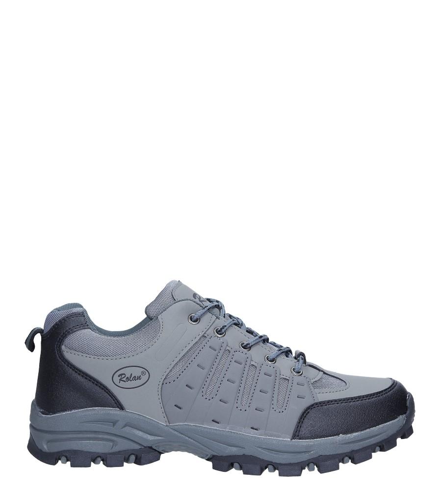 Szare buty sportowe sznurowane Casu 78004