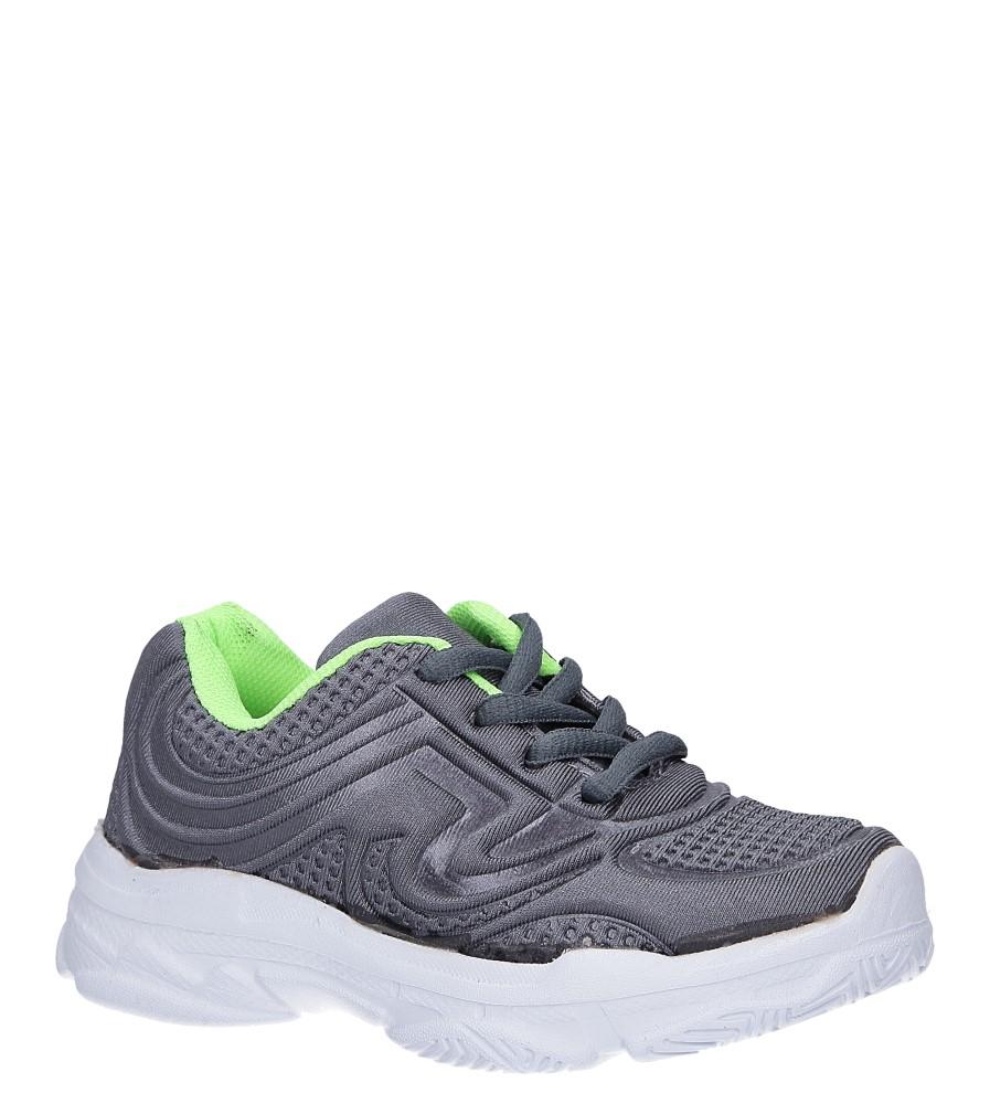Szare buty sportowe sznurowane Casu 805A producent Casu
