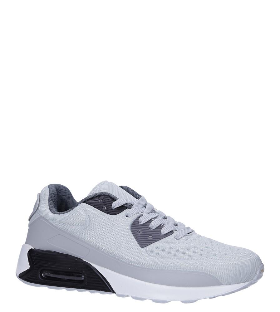 Szare buty sportowe sznurowane Casu 8867-3 producent Casu