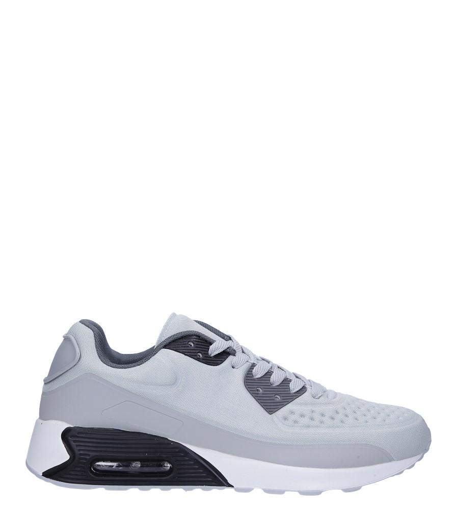 Szare buty sportowe sznurowane Casu 8867-3