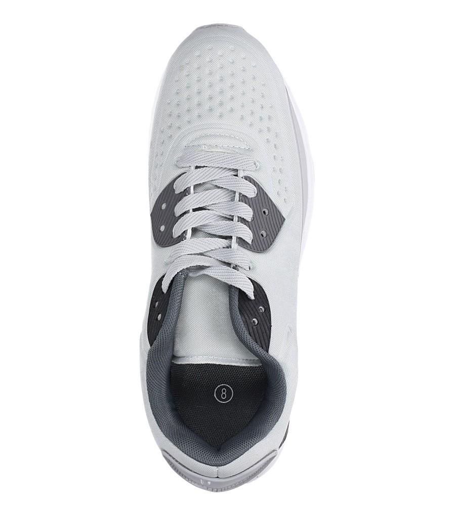 Szare buty sportowe sznurowane Casu 8867-3 wys_calkowita_buta 13.5 cm