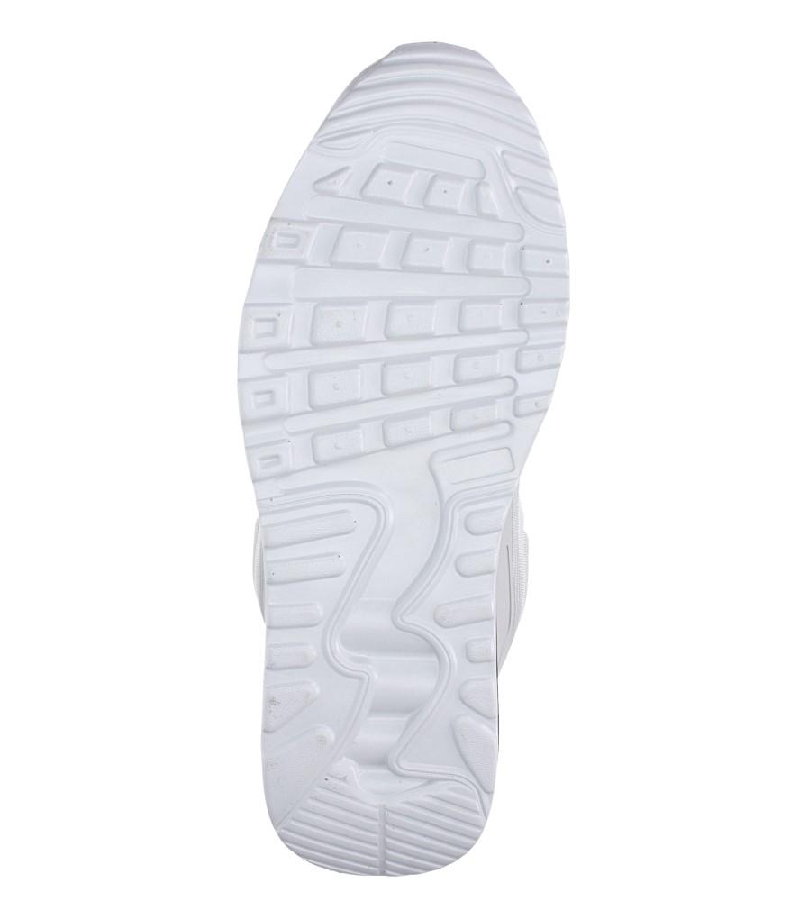 Szare buty sportowe sznurowane Casu 8867-3 wierzch materiał/skóra ekologiczna