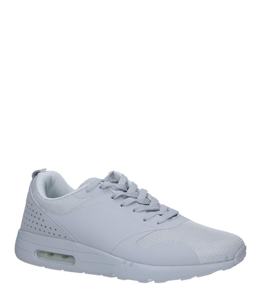 Szare buty sportowe sznurowane Casu A6031-6