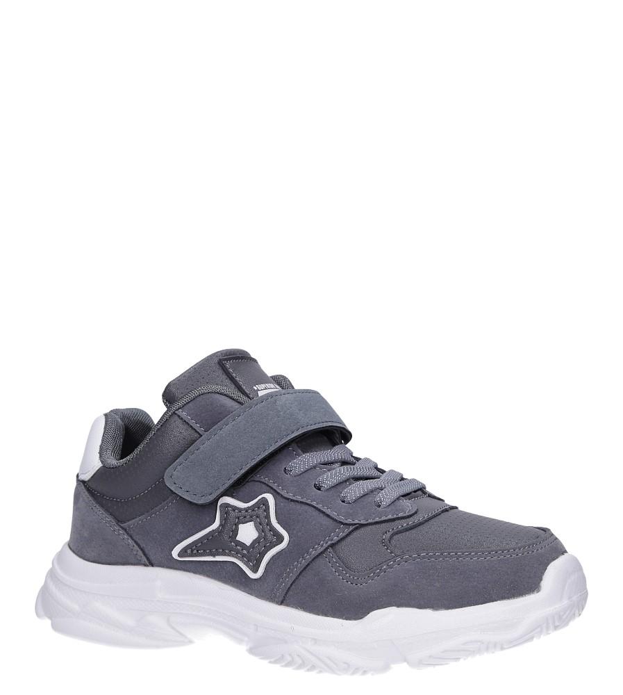 Szare buty sportowe sznurowane Casu A70 producent Casu