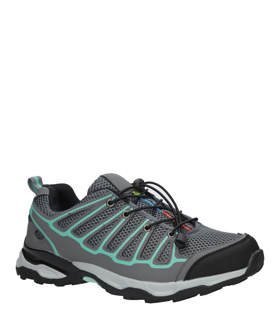 Szare buty sportowe sznurowane Casu A8702-3 producent Casu