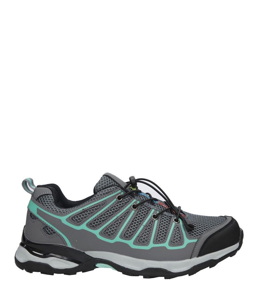 Szare buty sportowe sznurowane Casu A8702-3