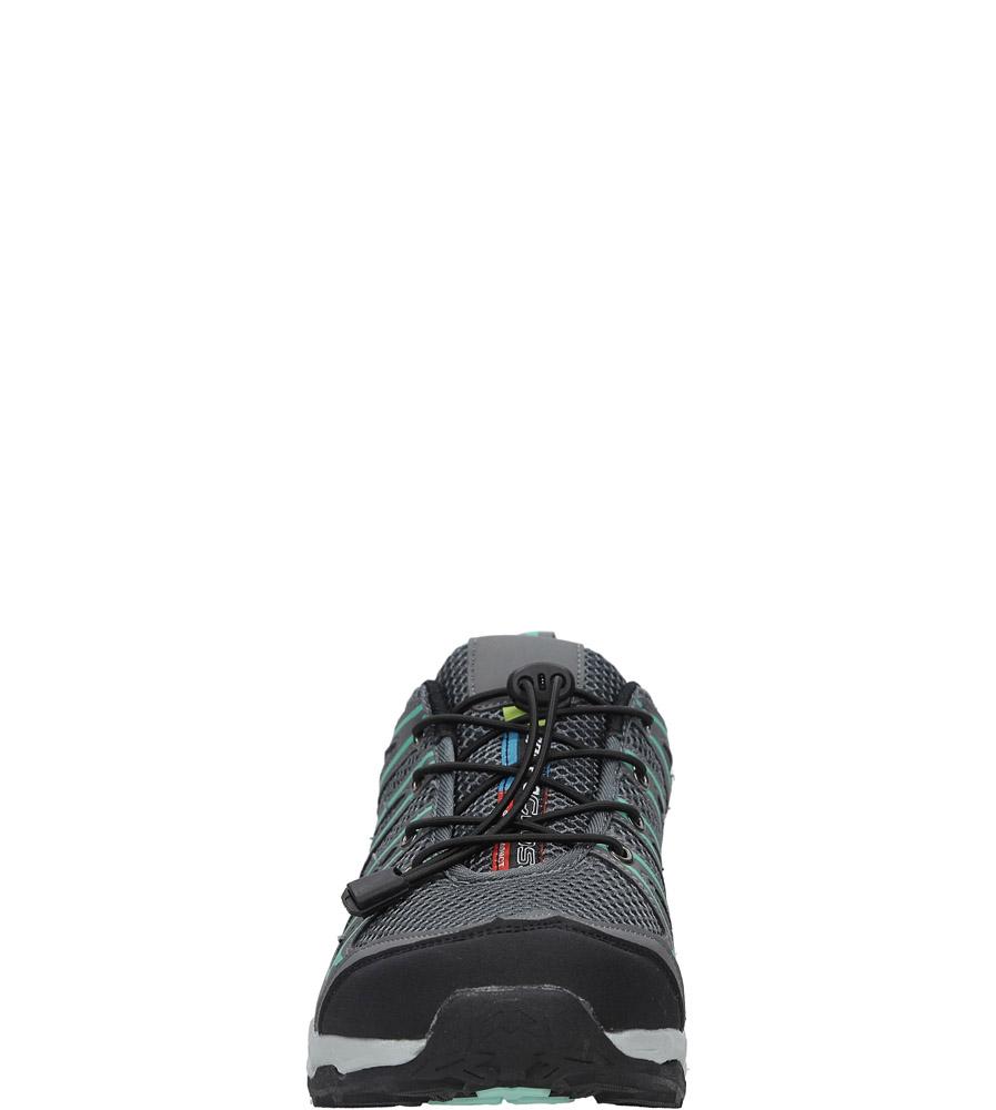 Szare buty sportowe sznurowane Casu A8702-3 sezon Całoroczny