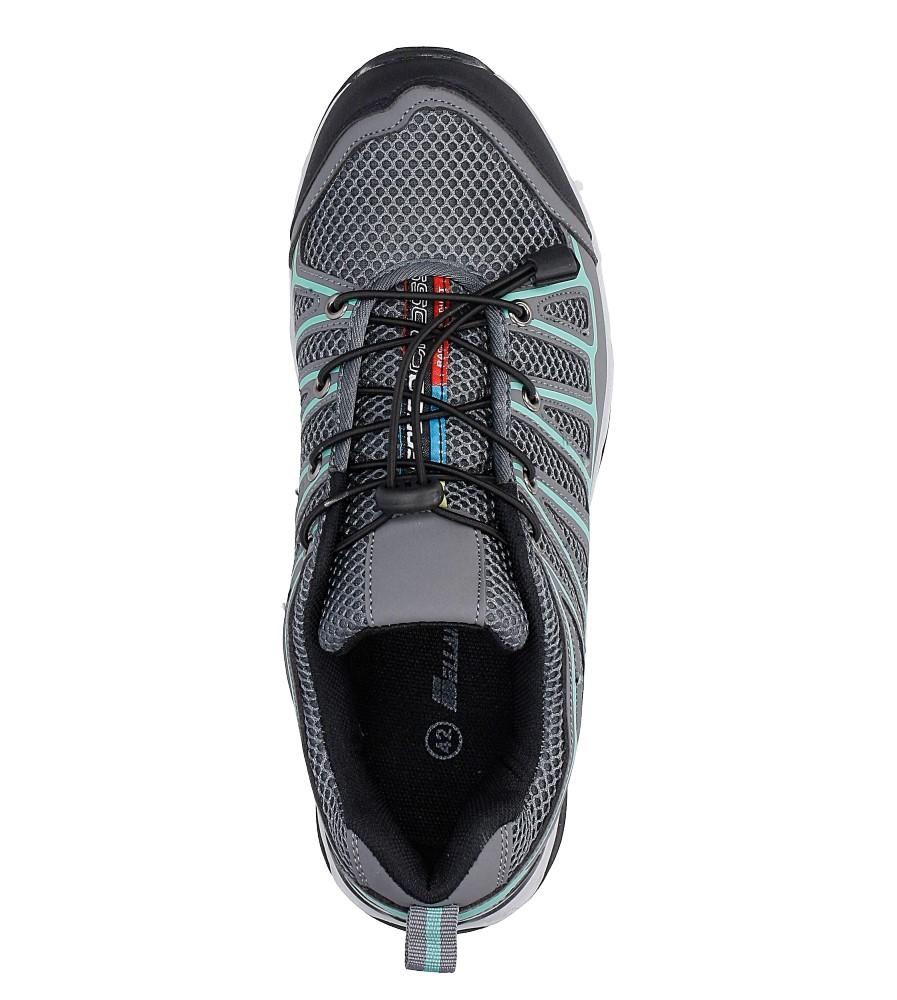 Szare buty sportowe sznurowane Casu A8702-3 wysokosc_platformy 2 cm