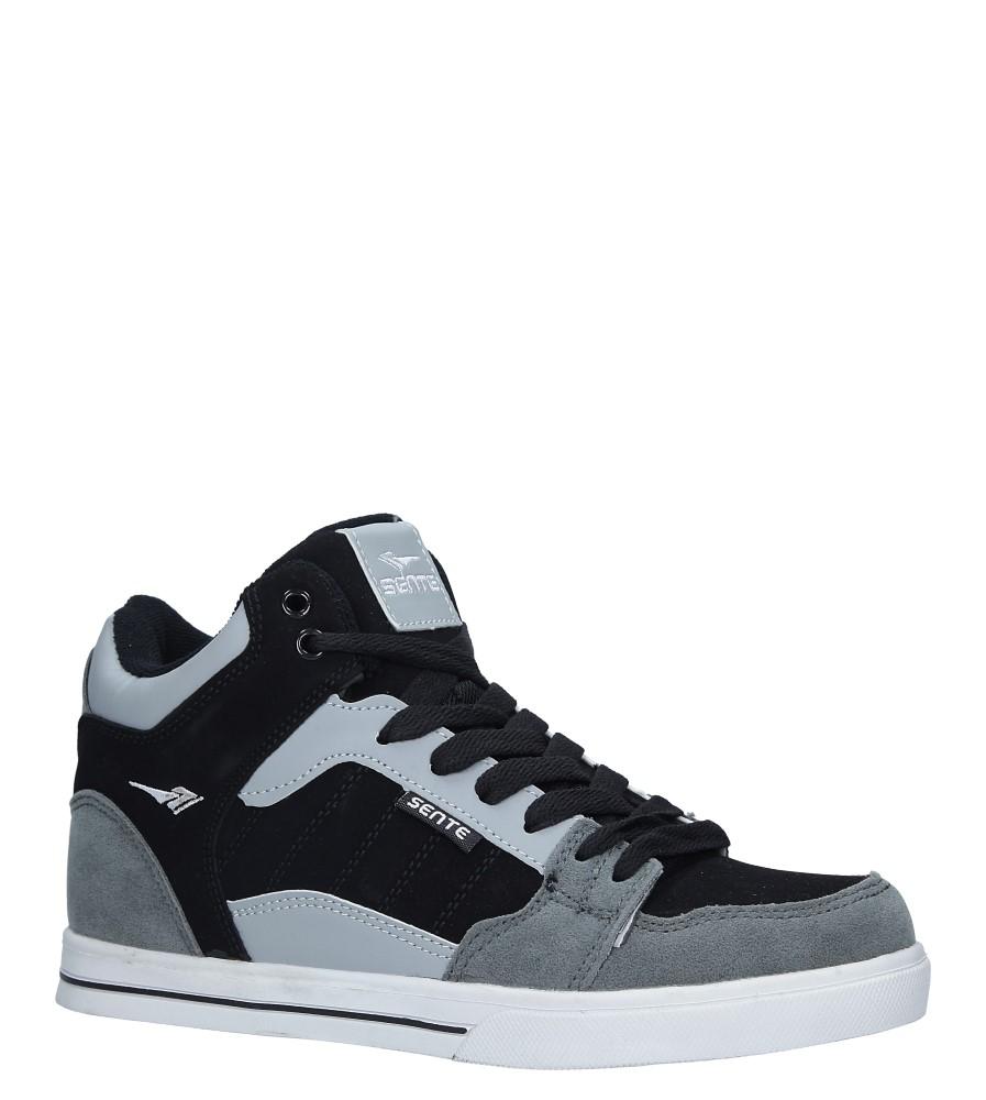 Szare buty sportowe sznurowane Casu B2278-4