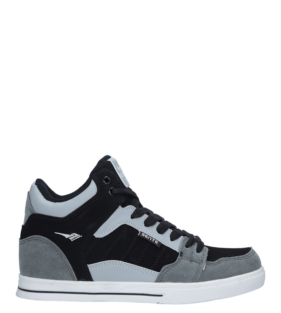 Szare buty sportowe sznurowane Casu B2278-4 szary