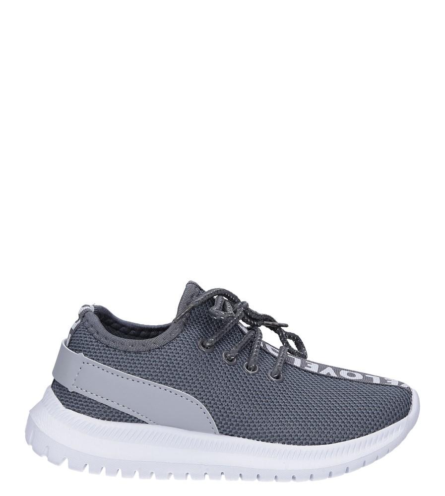 Szare buty sportowe sznurowane Casu C-10