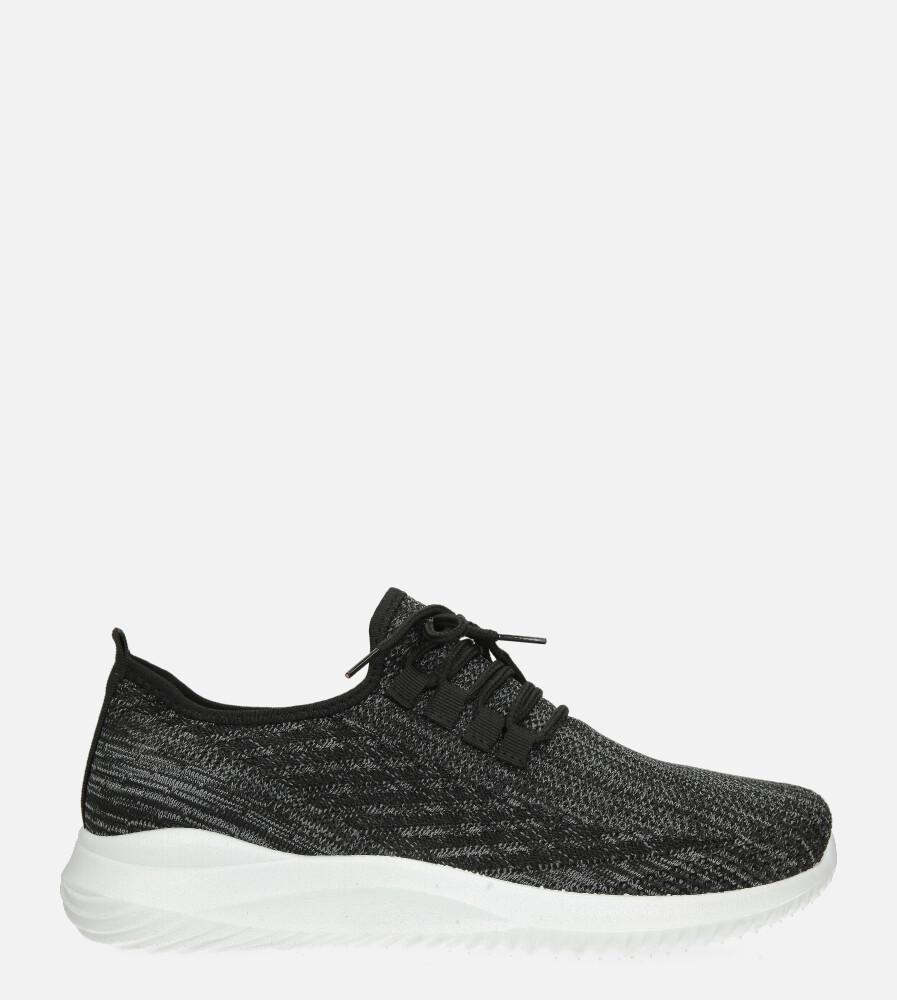 Szare buty sportowe sznurowane Casu H1913-4 szary