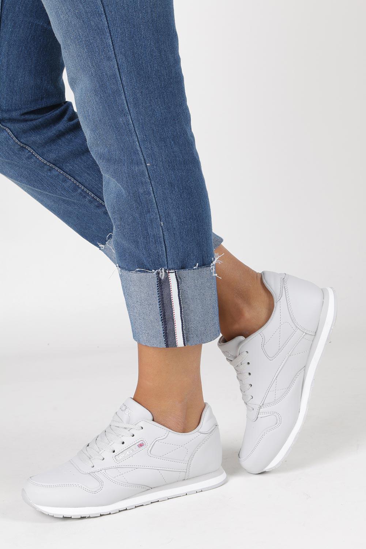 Szare buty sportowe sznurowane Casu LXC7236