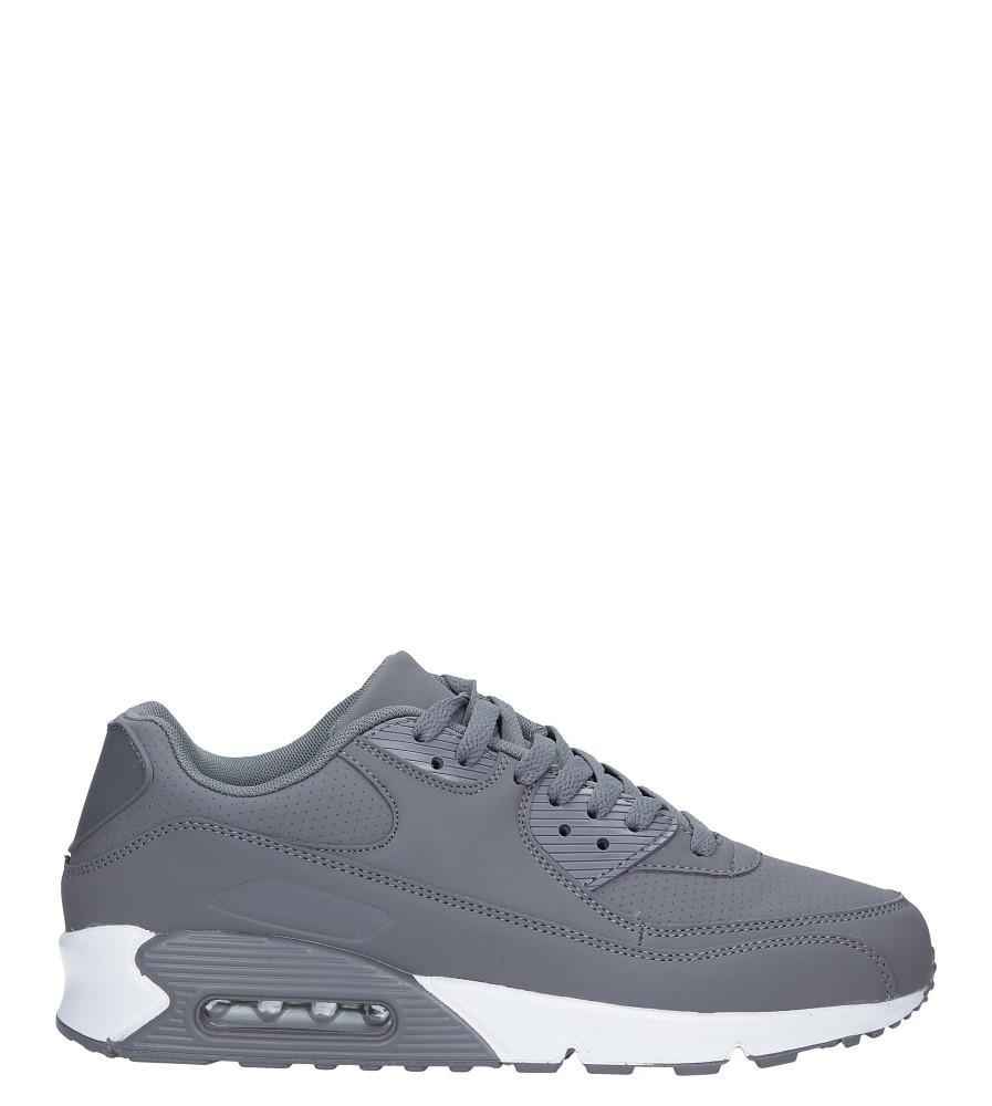 Szare buty sportowe sznurowane Casu U718-23
