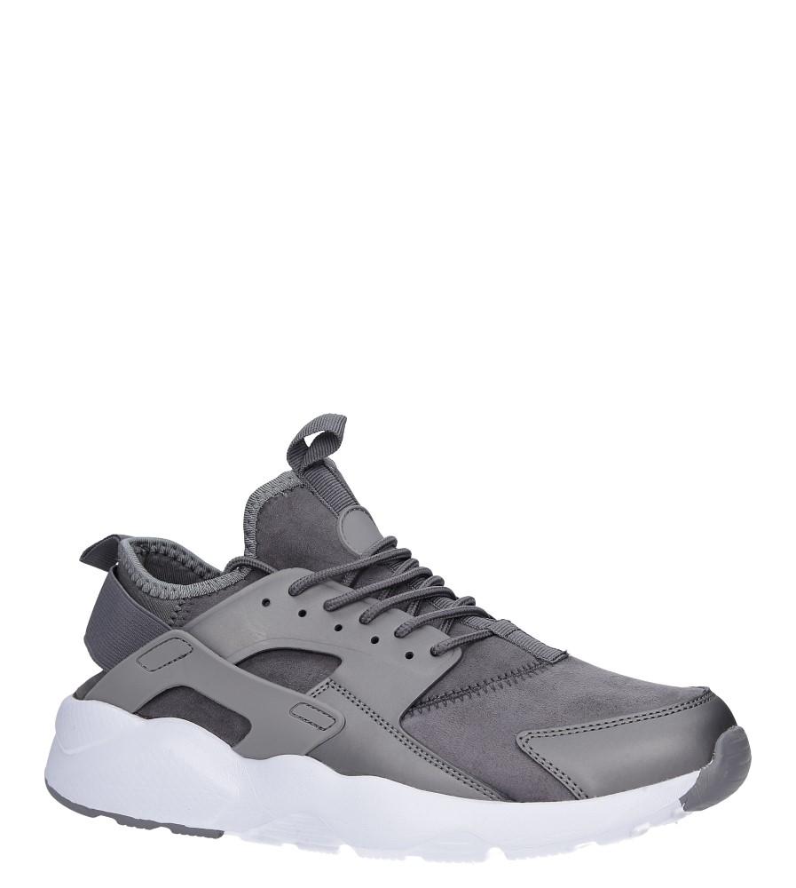 Szare buty sportowe sznurowane Casu U8102-5