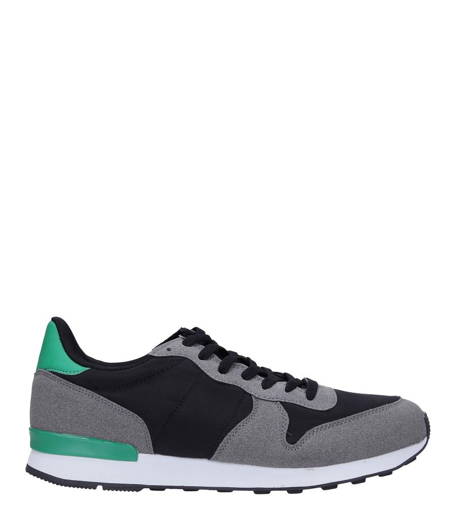 Szare buty sportowe sznurowane Casu U8106-3