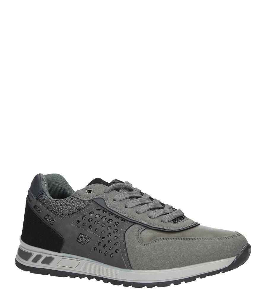 Szare buty sportowe sznurowane Casu U8506-5 producent Casu