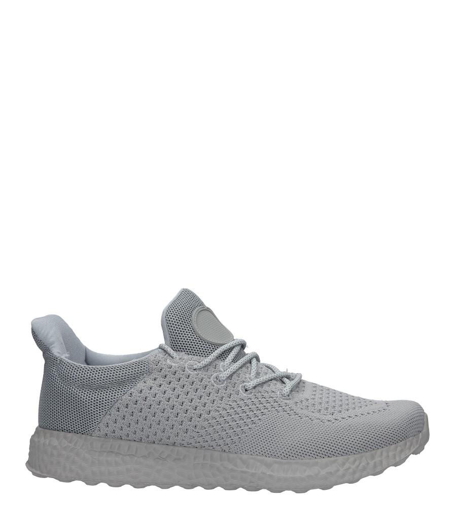 Szare buty sportowe sznurowane Casu WH28-3