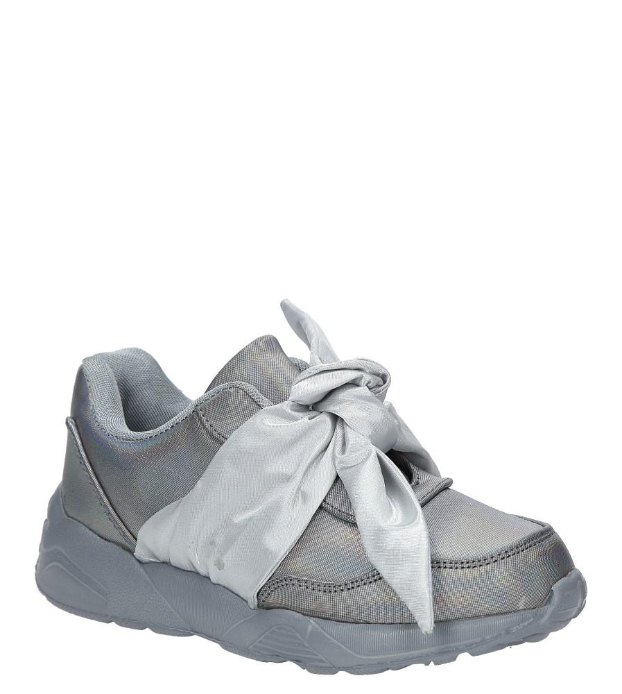 Szare buty sportowe z kokardą Casu C12033-3 producent Casu