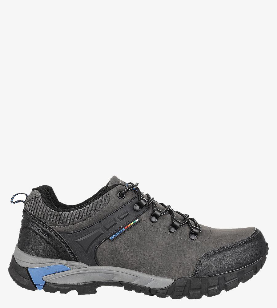 Szare buty trekkingowe sznurowane Casu MXC7707 producent Casu