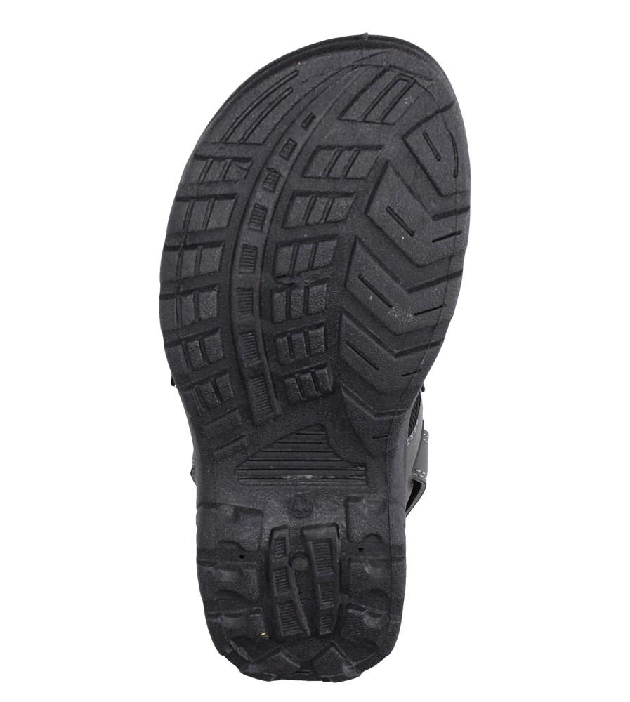 Szare sandały na rzepy Casu XH9915M wys_calkowita_buta 11 cm