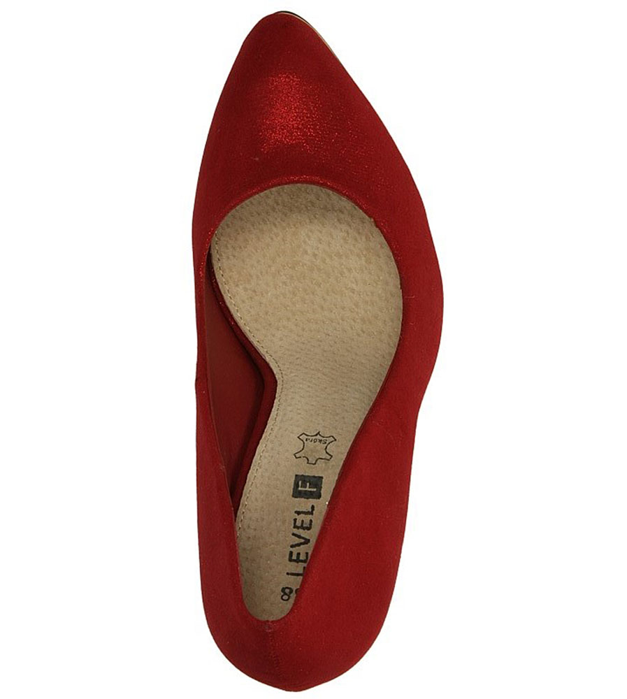 SZPILKI CASU 7CR-GL8401 kolor czerwony