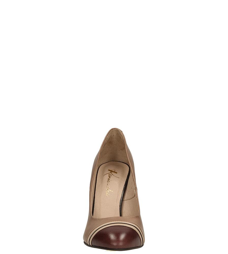 SZPILKI KANIOWSKI K-1526 kolor cappucino