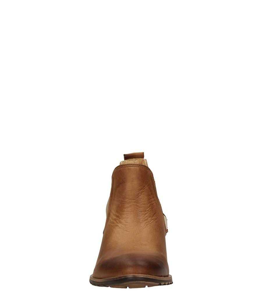 SZTYBLETY CARINII B1748-6 kolor jasny brązowy