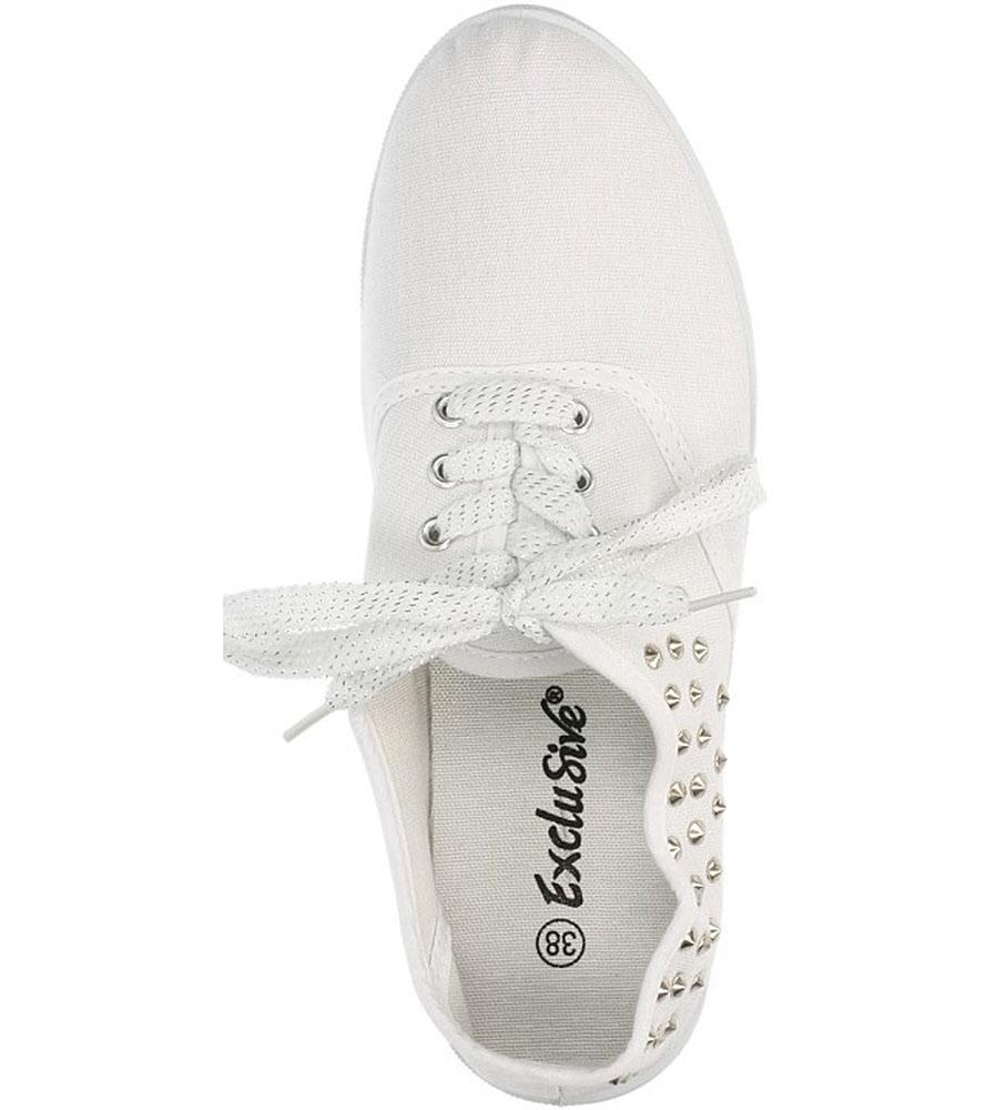 TENISÓWKI CASU XR9410A kolor biały