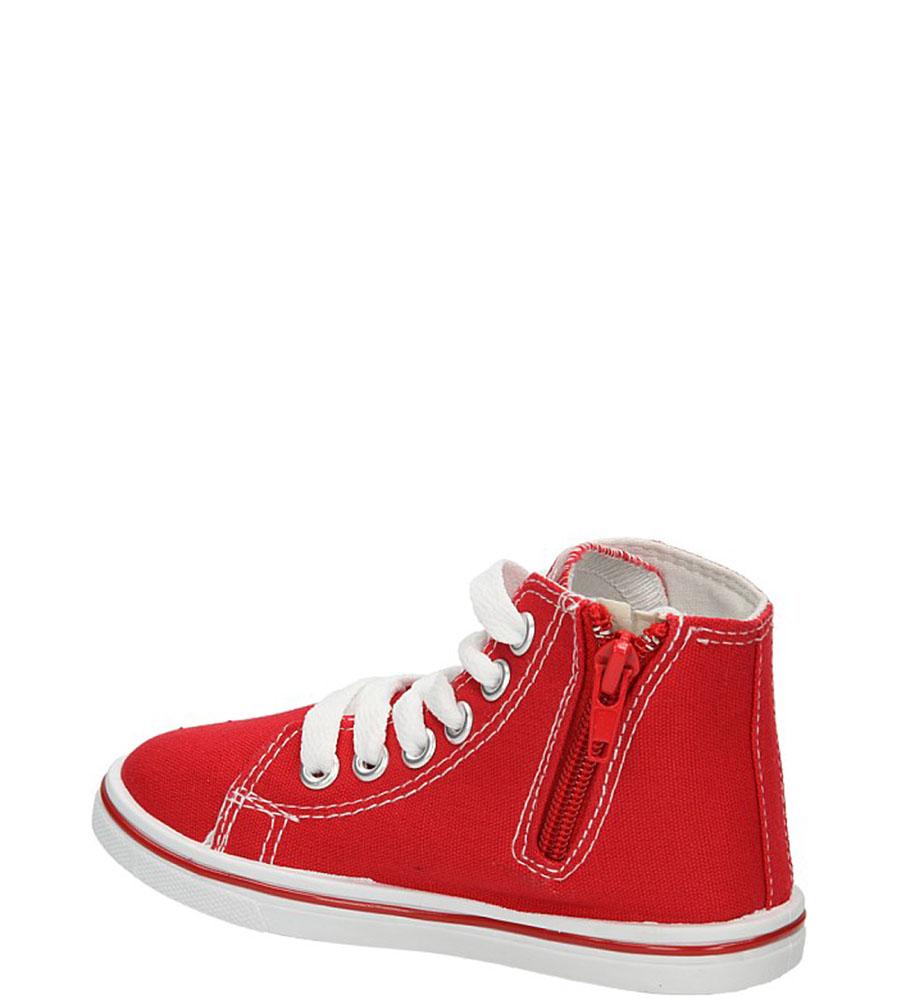 TRAMPKI 3SP156-RA kolor czerwony