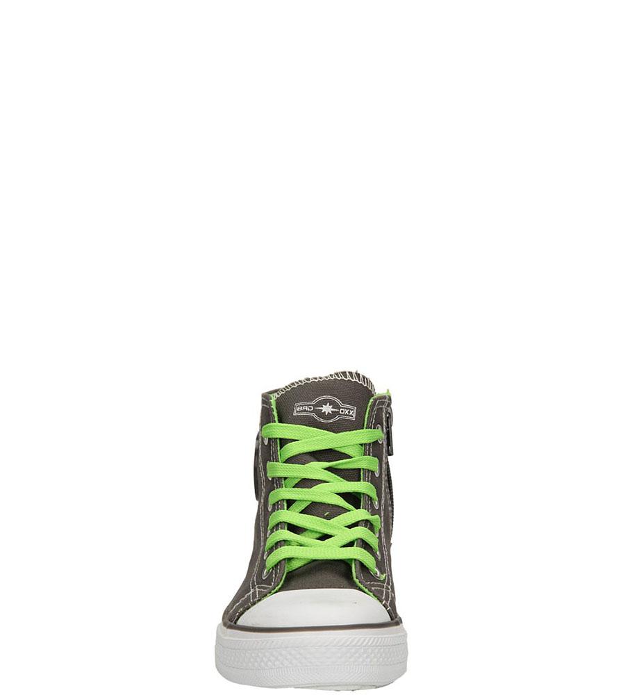 TRAMPKI 3XC6264-B kolor ciemny szary, zielony