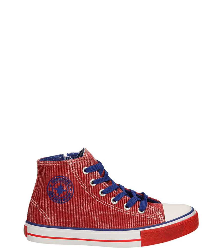 Dziecięce TRAMPKI 3XC6353-B czerwony;niebieski;