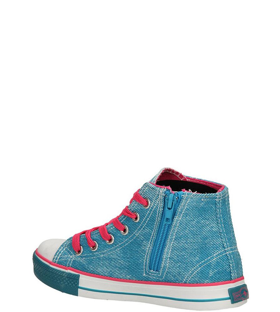TRAMPKI 3XC6353-G kolor fuksja, niebieski
