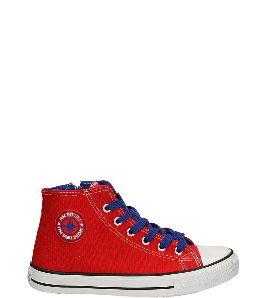 Dziecięce TRAMPKI 5XC6264-B czerwony;niebieski;