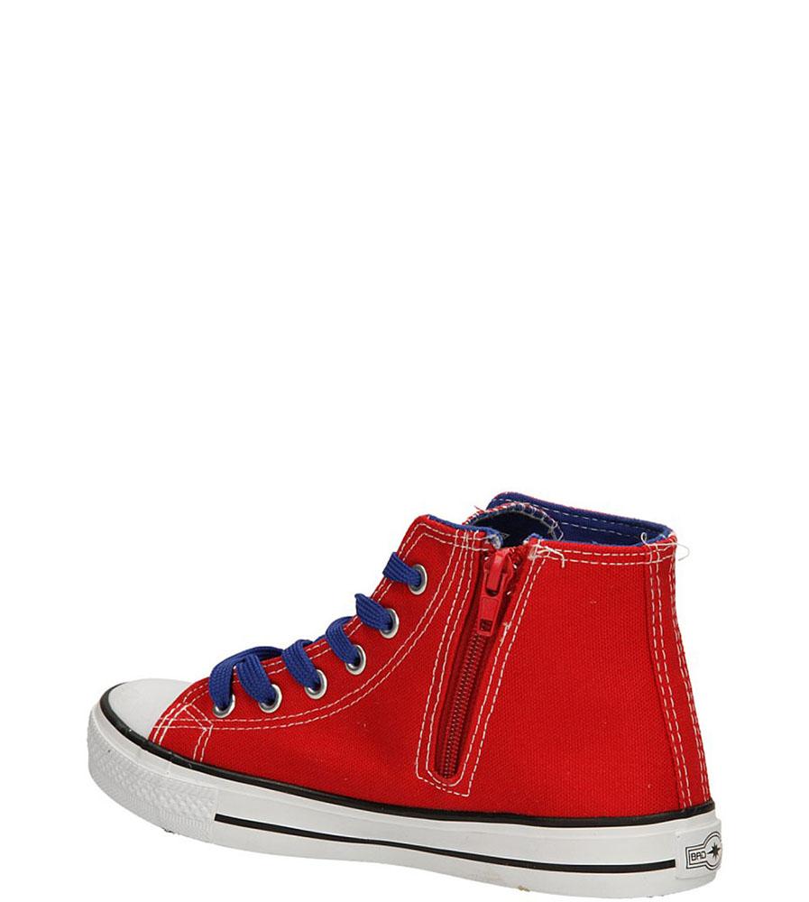 TRAMPKI 5XC6264-B kolor czerwony, niebieski