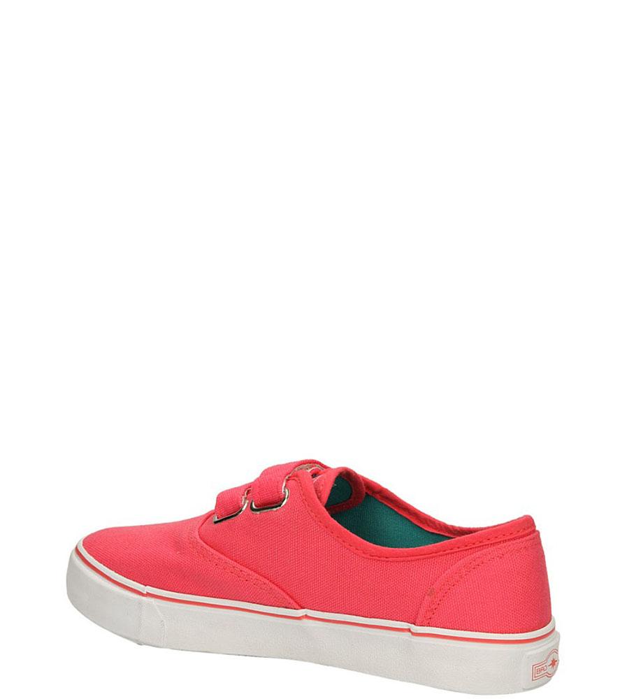 TRAMPKI 5XC6557-G kolor miętowy, różowy