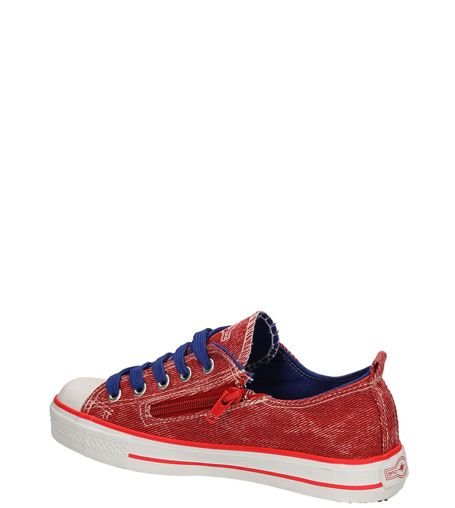 TRAMPKI 5XC6558-B kolor czerwony, niebieski