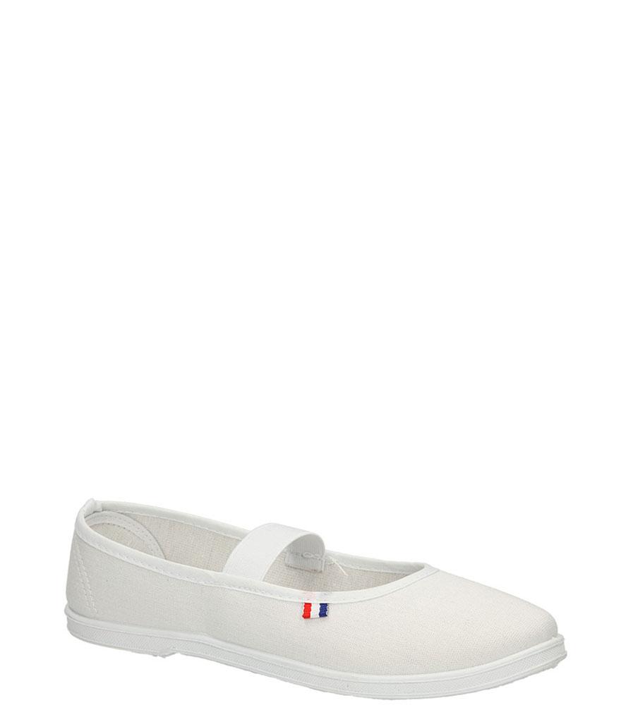 Damskie TRAMPKI AMERICAN CA283-04624-1 biały;;